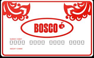 Подарочный сертификат Bosco