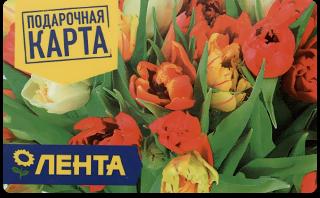 Подарочная карта ЛЕНТА